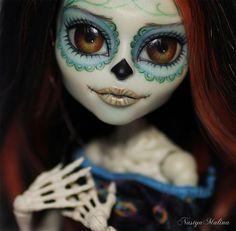 ❁☠❀ Dia de Los Muertos  ❀☠❁ OOAK Monster High | by ♥ NastyaMalina ♥