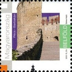 Sello: Pécs 2010 (Hungría) (Pécs 2010 - European Capital of Culture) Mi:HU Culture, Stamps, Castles