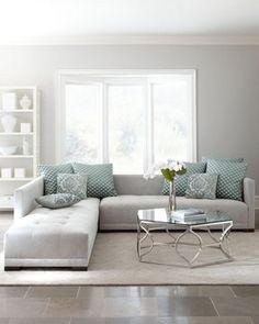 "Haute House ""Sevina"" Tufted Sectional Sofa on shopstyle.com"