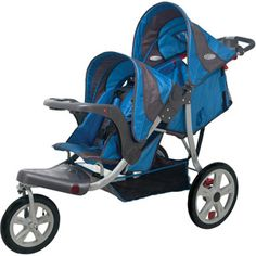 I really want a tandem (stadium seat) jogging style stroller, and this appears to be literally the only one on the market. So... yeah.
