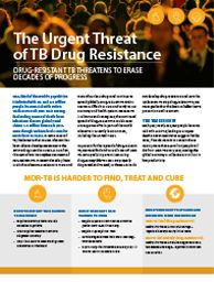 CDC is doing some interesting things to fight global TB...