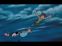 """Pin for Later: 25 Disney Songs We Will Never Stop Singing """"You Can Fly,"""" Peter Pan Before R. Kelly believed he could fly or Sugar Ray just wanted to, Peter Pan encouraged everyone to spread their wings. Disney Songs, Disney Music, Disney Movies, Disney Pixar, Walt Disney, Disney Animation, Animation Film, Disney Peter Pan, Jm Barrie"""