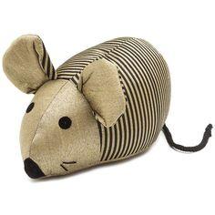 Thurlby - Door Mouse Scented Door Stopper Black