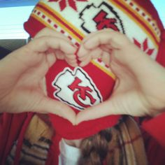 #Chiefs Love...I want this hat! Chiefs win today! 2-0 baby!
