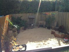 Great ideas for sandpit
