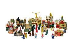 Holzspielzeug Stadt am Ende der Welt  Lyonel Feininger