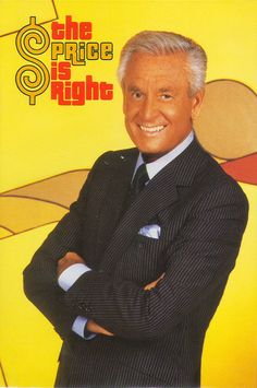 Bob Barker of the Price Is Right.