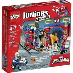 LEGO Juniors Spider-Man Hideout [10687 - 137 Pieces]
