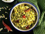 Mung Bean Sprouts Upkari/Stir Fry