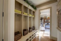 Entry Photos Mudroom Lockers Design, Pictures, Remodel, Decor and Ideas