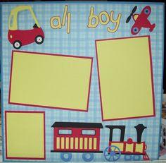cricut layouts | Love Crafting: Cricut Lite cartridge - B is for Boy, (NYR #23)