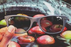 Johnny Appleseed Day // March 11 // #NewWayfarer RB2132 811 // http://neverhi.de/gz3u