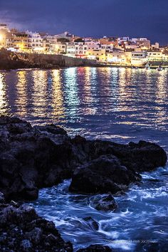 Los Abrigos, Santa Cruz de Tenerife, Canary Islands, Spain Could be cool to visit this Santa Cruz