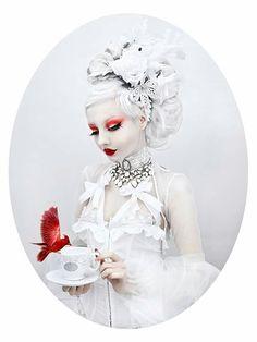 Photographer/Retoucher: The Wild Rose's Mesmerizing Stories  #darkbeauty #DarkBeautyMag #photography