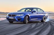 New BMW M5 revealed with 592bhp and four-wheel drive  This is the new BMW M5  Sixth-generation M5 yet uses heavily revised twin-turbo 4.4-litre V8; it can reach 62mph in 3.4sec and tops out at 190mph  BMW is billing its all-new M5 which adopts four-wheel drive for the first time as the most powerful and quickest M5 yet.  The sixth-generation M5 will run a heavily revised 592bhp version of its predecessors twin-turbocharged 4.4-litre V8 engine in combination with a standard M xDrive…