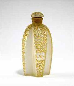 1925 R. Lalique, Gabilla Perfume Bottle