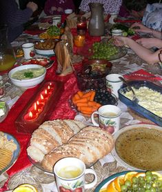 Bethlehem Supper--what a great idea; especially since Hikari is in Bethlehem for Christmas this year.