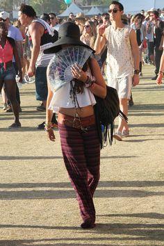 Vanessa Hudgens - Vanessa Hudgens Hangs Out at Coachella