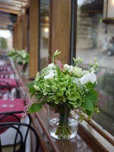 hortensia, lisianthus, pois de senteur