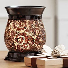 Our best-selling ScentGlow Warmer + 1 Scent Plus Melt in Autumn Glow is $25 online through 7/26!!