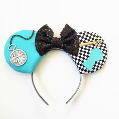 Alice Mouse Ears Alice in Wonderland Alice by ToNeverNeverland