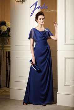 Jade by Jasmine - J145069U - Can be changed to tea or knee length dress