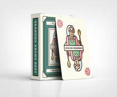 Dueling Grandmas on Behance Print Packaging, Packaging Design, Travel Scrapbook, Creative Industries, Graphic Design Art, App Design, Logo Design, Signage, Stationery