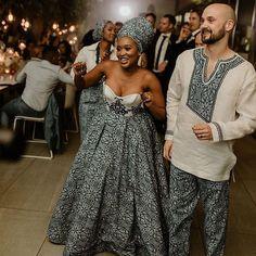 African Print Wedding Dress, African Wedding Attire, African Print Dresses, African Attire, African Dress, South African Traditional Dresses, Xhosa Attire, Bride Reception Dresses, Traditional Wedding Attire