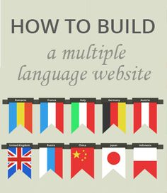 Find out how you can easily create a bilingual / multilingual website to show your website in different languages.