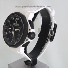 Corum admirals cup challenger 44 limited edition chrono rubber