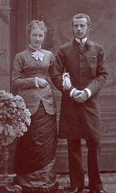 Rudolf Habsburg and Princess Stephanie