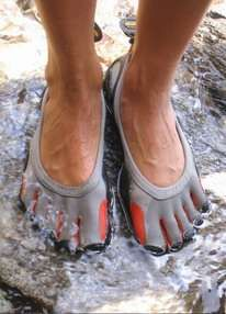 Five Fingers Shoes Let Toes Feel Free Without the Worry #running #shoes trendhunter.com