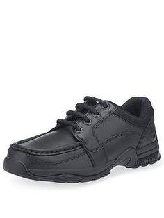 Start-Rite Boys Dylan School Shoes - Black Leather, Black Leather, Size - Black Leather - Older Black Shoes, All Black Sneakers, School Shoes, Girls Life, School Fashion, Boys Shoes, Hiking Boots, Black Leather, Footwear