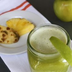 Detox P.A.M. Juice: Pineapple, Green Apple, and Mint .