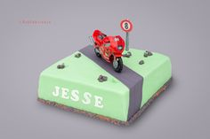 Motor taart cake - 't Bakfabriekje