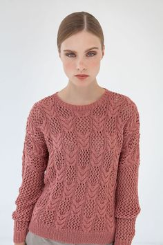 Lana Grossa LOCHMUSTERPULLI 365 Cashmere - ALL SEASONS 365 No. 2 - Modell 7 | FILATI.cc WebShop