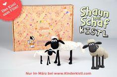 Shaun das Schaf zum Selber-Basteln! Jetzt in deinem Kinderkistl. Snoopy, Fictional Characters, Art, Shaun The Sheep, Gifts For Children, Sheep, Art Background, Kunst, Performing Arts