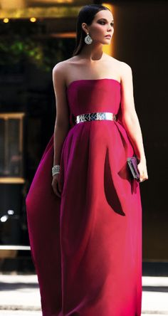 What a beautiful holiday gown this would be ... Alexander McQueen