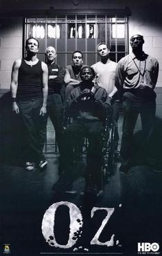 """OZ"""" (HBO) I'm going to try and list each character in the order they appeared in the show, but I may screw up! lol Also, I didn't go ALLLL the way back to the beginning cos there were just too many characters"""