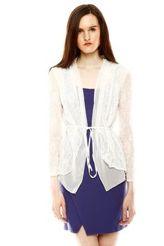 Double Layered Cardigan - perfect over a dress or skirt!