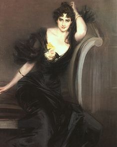 Giovanni Boldini (Italian 1842–1931) [Portraiture] Lady Colin Campbell, 1897. National Portrait Gallery, London.
