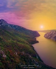 Iron Gates of the Danube River, Serbia