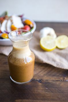 Whole30 Everyday Salad Dressing with coconut aminos
