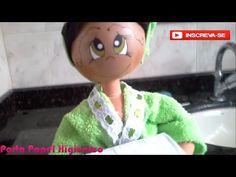 Moldes da boneca porta papel higiênico sentada. - YouTube