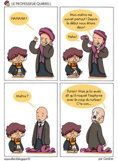 À Poudlard / At Hogwarts - Harry Potter Parody: Le professeur Quirrell / Professor Quirrell