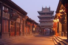 Pingyao, the best preserved ancient city in China, Shanxi province