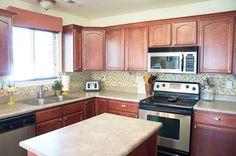 DIY kitchen tile backsplash - cost >$150!