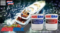 #Awlmix custom color system, from World Number 1 #Yacht #Paint #Awlgrip #Awlcraft2000  Exclusively available in #EastMarine #Phuket #Thailand