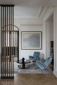 Гостиная. Столик и кресла, Nancy Corzine.