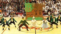 "High School Dance Team's ""Wizard Of Oz"" Routine Praised As Greatest Pep Rally Ever! High School Dance, School Dances, Wizard Of Oz Musical, Dance Team Uniforms, Cheers, Dance Team Gifts, Homecoming Spirit Week, Haha, Dancing Day"